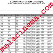 [new] List of the 13th Round 20/80 and 40/60 Condominium Winners in Addis Ababa Ethiopia